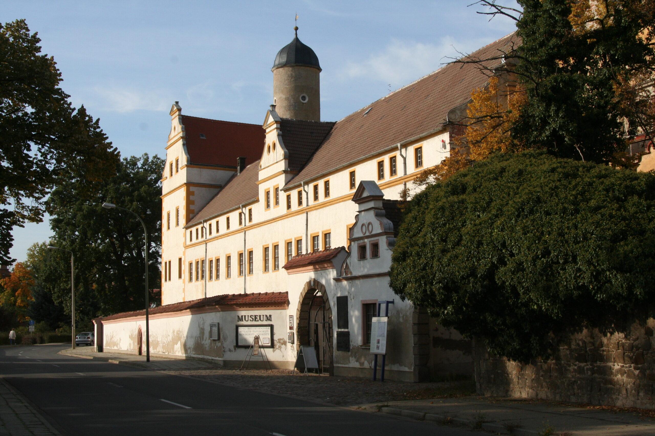 Eingang zum Schloss Museum Lichtenburg