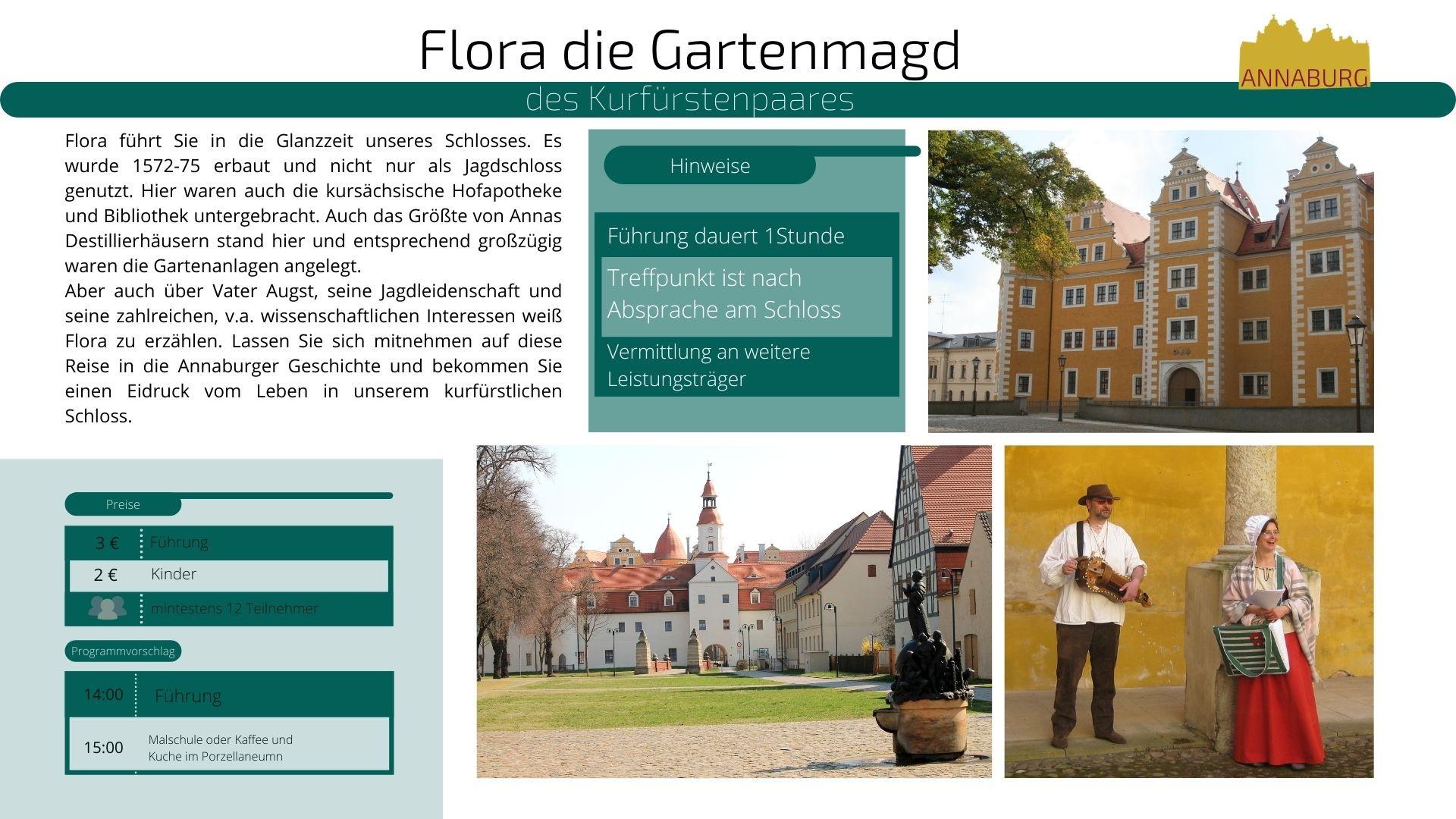 Angaben zur Führung: Flora die Gartenmagd