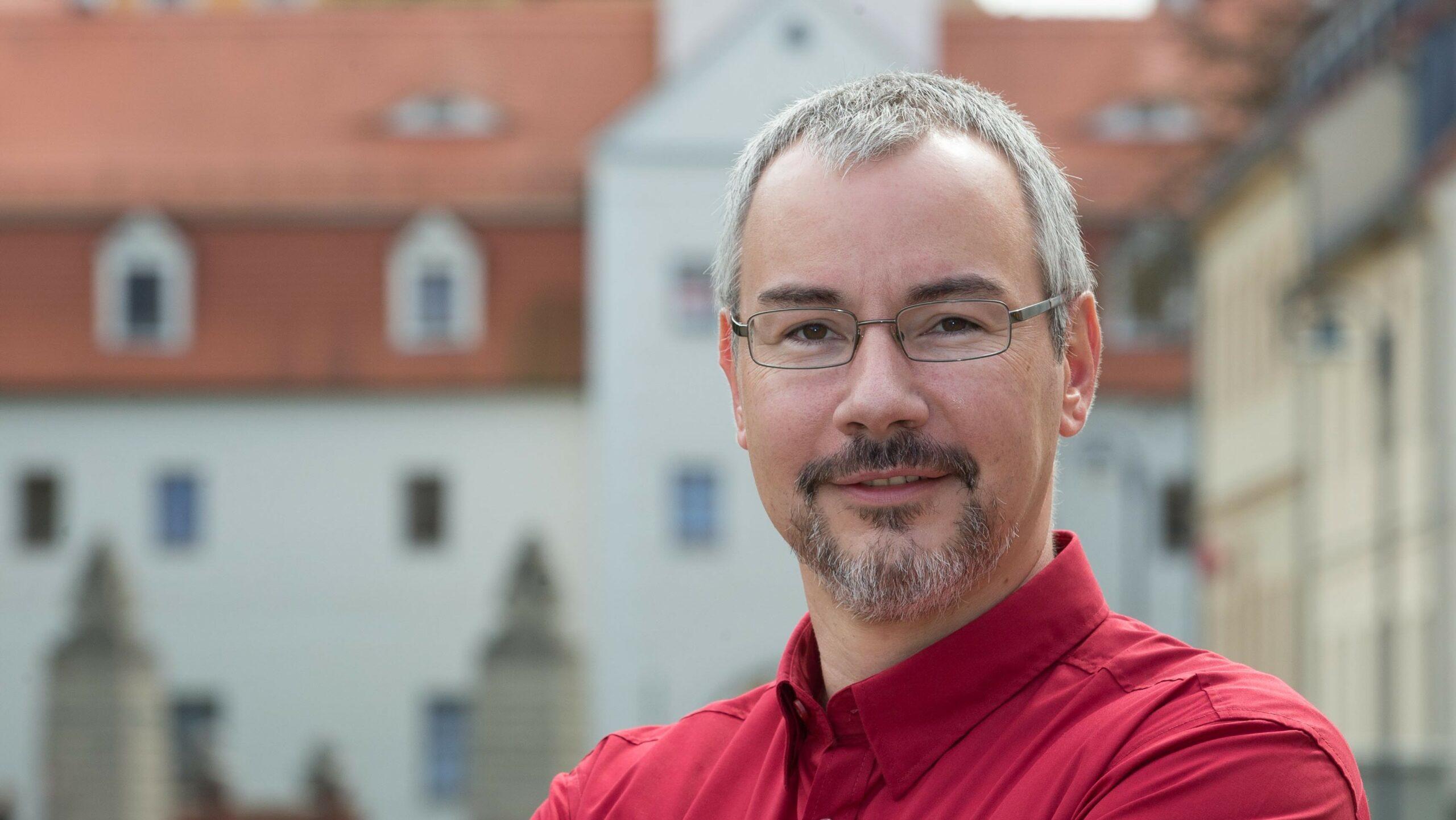 Bürgermeisterkandidat Stefan Schmidt